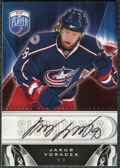 2009/10 Upper Deck Be A Player Signatures #SJV Jakub Voracek Autograph