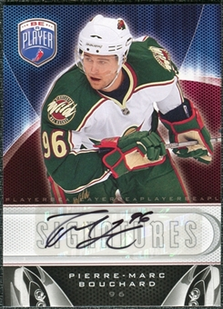 2009/10 Upper Deck Be A Player Signatures #SPB Pierre-Marc Bouchard Autograph