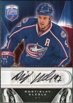 2009/10 Upper Deck Be A Player Signatures #SRK Rostislav Klesla Autograph