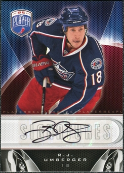 2009/10 Upper Deck Be A Player Signatures #SRU R.J. Umberger Autograph