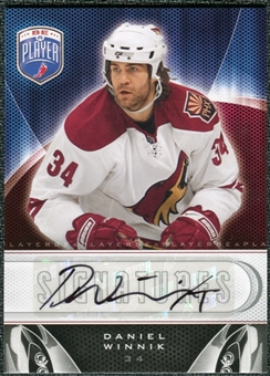 2009/10 Upper Deck Be A Player Signatures #SDW Daniel Winnik Autograph