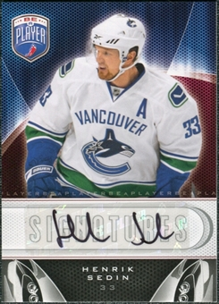 2009/10 Upper Deck Be A Player Signatures #SHS Henrik Sedin Autograph