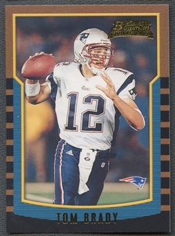 2000 Bowman #236 Tom Brady Rookie