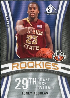 2009/10 Upper Deck SP Game Used #136 Toney Douglas RC /399