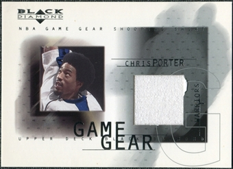2000/01 Upper Deck Black Diamond Game Gear #CP Chris Porter
