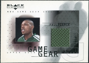 2000/01 Upper Deck Black Diamond Game Gear #PP Paul Pierce