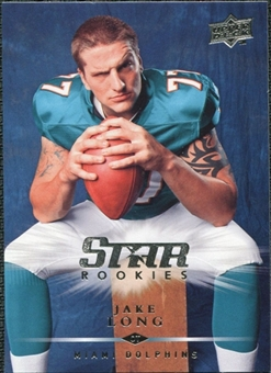 2008 Upper Deck #313 Jake Long SP RC