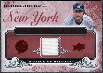 2008 Upper Deck UD A Piece of History Franchise History Jersey #FH39 Derek Jeter