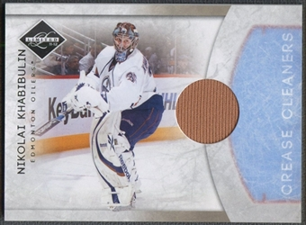 2011/12 Limited #14 Nikolai Khabibulin Crease Cleaners Materials Jersey #06/99