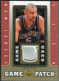 2007/08 Upper Deck UD Game Patch #JK Jason Kidd