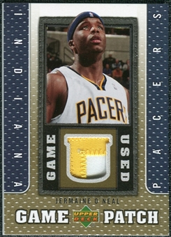 2007/08 Upper Deck UD Game Patch #JO Jermaine O'Neal