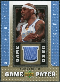 2007/08 Upper Deck UD Game Patch #KM Kenyon Martin