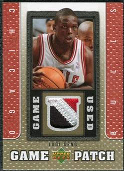 2007/08 Upper Deck UD Game Patch #LD Luol Deng