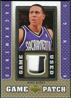2007/08 Upper Deck UD Game Patch #MB Mike Bibby