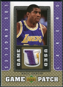 2007/08 Upper Deck UD Game Patch #MJ Magic Johnson