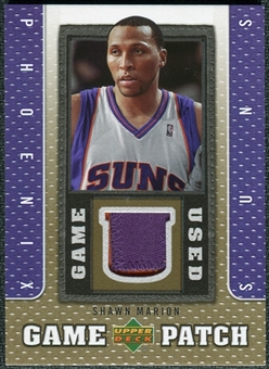 2007/08 Upper Deck UD Game Patch #SH Shawn Marion