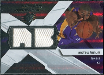 2008/09 Upper Deck SPx Winning Materials #WMIAB Andrew Bynum
