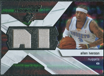 2008/09 Upper Deck SPx Winning Materials #WMIAI Allen Iverson
