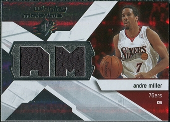 2008/09 Upper Deck SPx Winning Materials #WMIAM Andre Miller