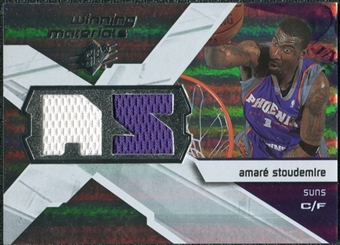 2008/09 Upper Deck SPx Winning Materials #WMIAS Amare Stoudemire