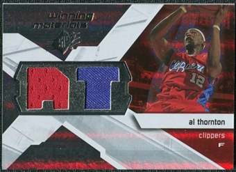 2008/09 Upper Deck SPx Winning Materials #WMIAT Al Thornton