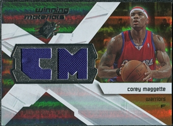 2008/09 Upper Deck SPx Winning Materials #WMICM Corey Maggette