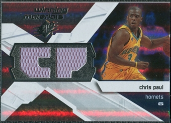 2008/09 Upper Deck SPx Winning Materials #WMICP Chris Paul