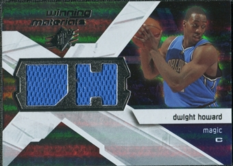 2008/09 Upper Deck SPx Winning Materials #WMIDH Dwight Howard