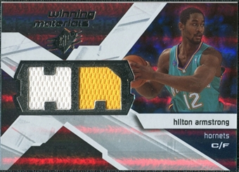 2008/09 Upper Deck SPx Winning Materials #WMIHA Hilton Armstrong