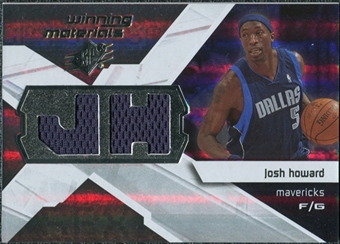 2008/09 Upper Deck SPx Winning Materials #WMIJH Josh Howard