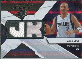 2008/09 Upper Deck SPx Winning Materials #WMIJK Jason Kidd