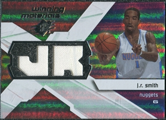2008/09 Upper Deck SPx Winning Materials #WMIJS J.R. Smith
