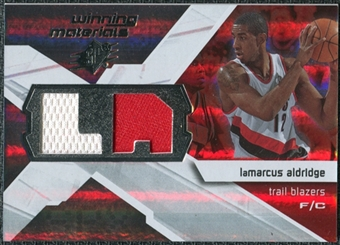 2008/09 Upper Deck SPx Winning Materials #WMILA LaMarcus Aldridge