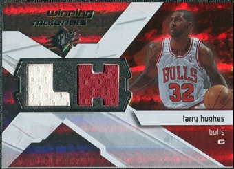 2008/09 Upper Deck SPx Winning Materials #WMILH Larry Hughes
