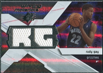 2008/09 Upper Deck SPx Winning Materials #WMIRG Rudy Gay