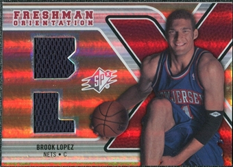 2008/09 Upper Deck SPx Freshman Orientation #FOBL Brook Lopez