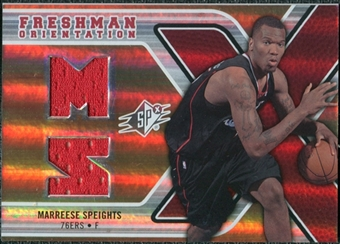 2008/09 Upper Deck SPx Freshman Orientation #FOMS Marreese Speights