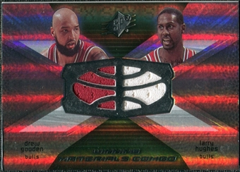 2008/09 Upper Deck SPx Winning Materials Combos #WMCHG Drew Gooden Larry Hughes