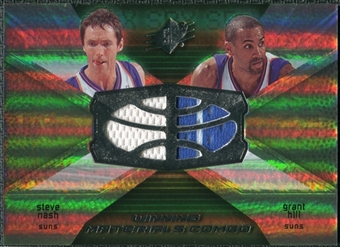 2008/09 Upper Deck SPx Winning Materials Combos #WMCNH Steve Nash Grant Hill