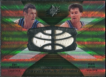 2008/09 Upper Deck SPx Winning Materials Combos #WMCPM Dan Majerle Mark Price