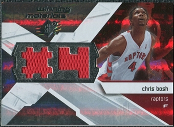 2008/09 Upper Deck SPx Winning Materials #WMJCB Chris Bosh