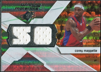 2008/09 Upper Deck SPx Winning Materials #WMJCM Corey Maggette