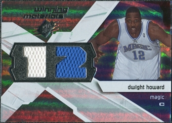2008/09 Upper Deck SPx Winning Materials #WMJDH Dwight Howard