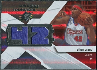 2008/09 Upper Deck SPx Winning Materials #WMJEB Elton Brand