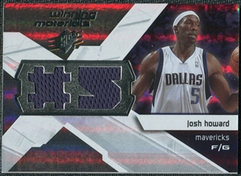 2008/09 Upper Deck SPx Winning Materials #WMJJH Josh Howard