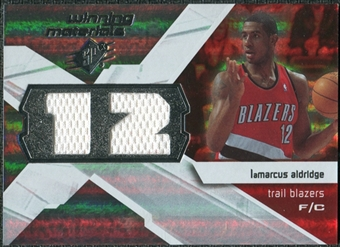 2008/09 Upper Deck SPx Winning Materials #WMJLA LaMarcus Aldridge