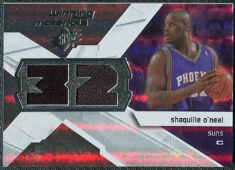 2008/09 Upper Deck SPx Winning Materials #WMJSO Shaquille O'Neal