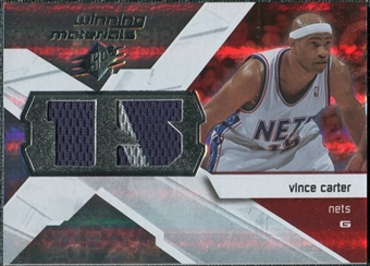 2008/09 Upper Deck SPx Winning Materials #WMJVC Vince Carter