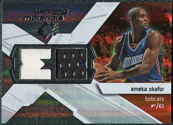 2008/09 Upper Deck SPx Winning Materials #WMIEO Emeka Okafor