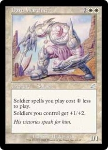 Magic the Gathering Scourge Single Daru Warchief - NEAR MINT (NM)
